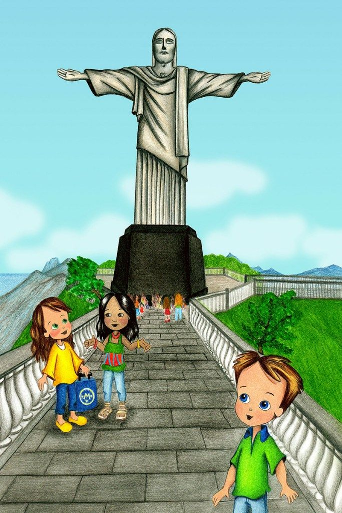 Review of 'Molly Goes to Rio de Janeiro' from KidsTravelBooks.com! Molly and the Magic Suitcase is a cultural travel series for children. #kids #books #travel