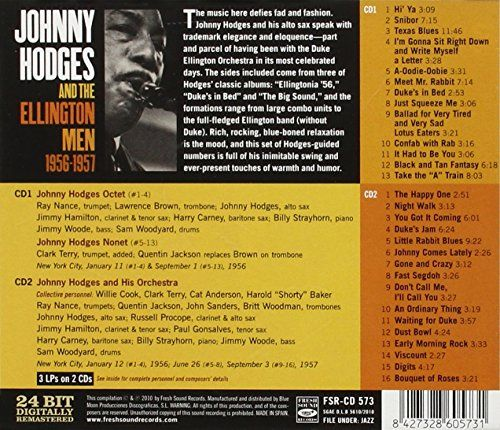 Image result for johnny hodges and the ellington men bouquet of roses