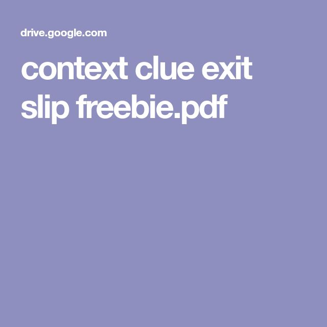 The  Best Exit Slips Ideas On   Exit Tickets