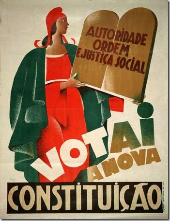 Restos de Colecção: Constituição Portuguesa de 1933
