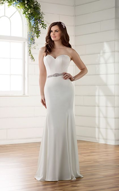 Captivating D2256 By Essense Of Australia Available At Sincerely, The Bride Vancouver,  Washington Portland Oregon · Modern Wedding DressesStrapless ... Idea