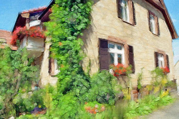 Wie aus dem Bilderbuch: Ein wunderschönes Anwesen - wie gemalt - www.obsthof-am-goldberg.de - Verkauf über VIA VINI Immobilien Gabriele Scheidt - www.via-vini.de - © Gabriele Scheidt