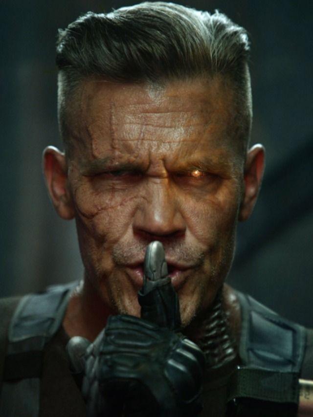 Cable Deadpool Frisur Cabelo Super Heroi Vilas