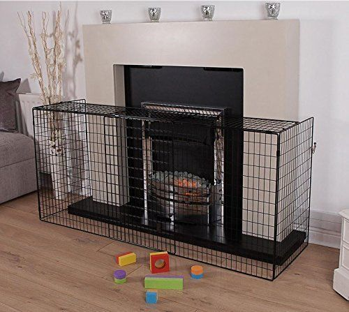 Extendable Fireguard Baby Toddler Child Kids Home Safety Gate Fence Fireplace