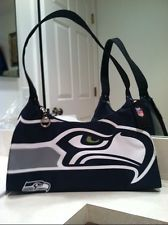 "seahawks purses   Seattle Seahawks ""THE BIG LOGO"" Gameday Sports Team Ladies' Purse ..."