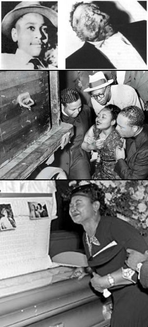 Standing as one of the most-heinous, race-motivated crimes in America's history, the kidnapping & savage lynching of 14-year-old Emmett Till in Mississippi.  Considered a transformative moment in the African-American Civil Rights Movement, Till's death shocked a nation & still resonates deeply. Till's murder helped push along the passing of the Civil Rights Act of 1957, which allowed the U.S. Department of Justice to investigate in local matters.: