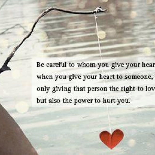 protecting your heart in a relationship