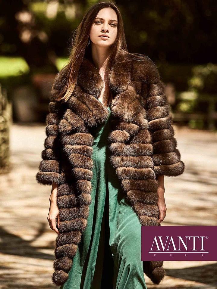 AVANTI FURS - MODEL:1973-BOZENA SABLE JACKET with Leather Python details and belt   #avantifurs #fur #fashion #sable #luxury #musthave #мех #шуба #стиль #норка #зима #красота #мода #topfurexperts