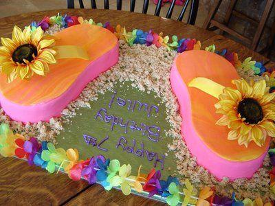 flip flop birthday party