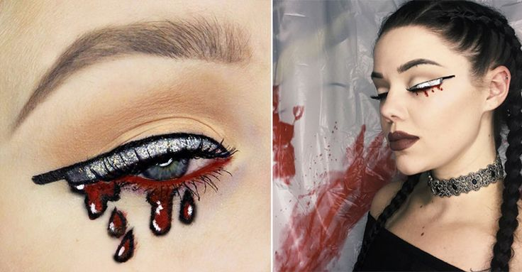 Halloween: Knifeliner ist der Make-up Trend #News #Beauty