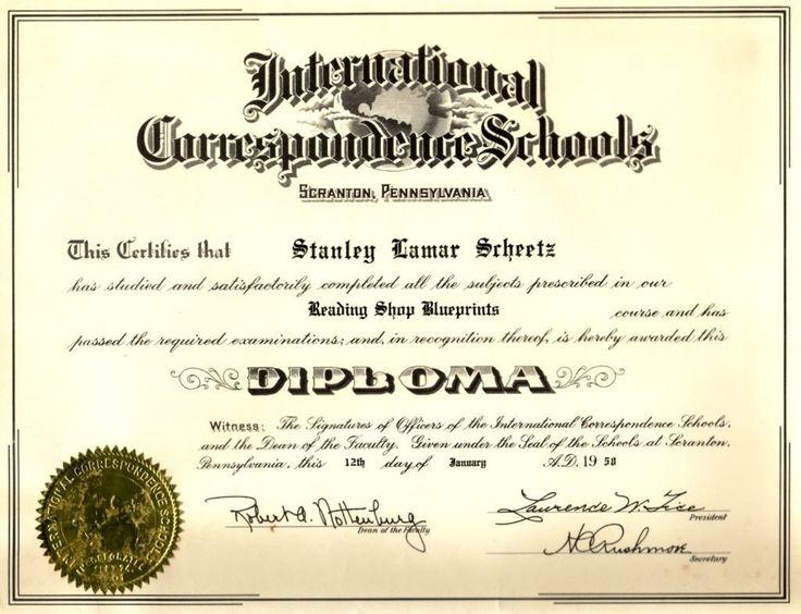 30 Free Printable Diploma Template in 2020 Graduation