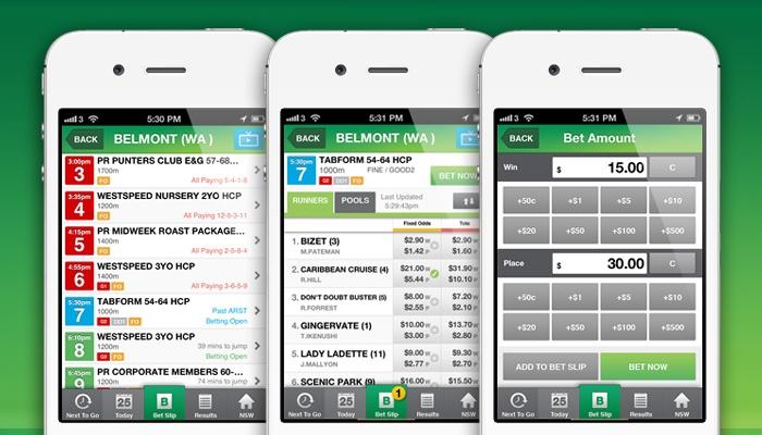 TAB Sportsbet App #iPhoneApp #UI #UX