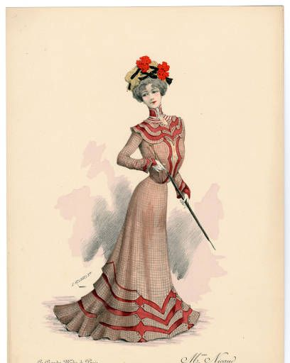 1900-1902, Tafel 013 :: Costume Institute Fashion Plates