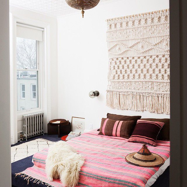 How To Get The Home Look You've Always Wanted  #refinery29  http://www.refinery29.com/home-decor-styles#slide-1  BOHEMIANRelaxed, yet still put-together, a free-spirited space needs texture, patterns, and muted colors. Keep art on the ground and don't be afraid of white space on the walls.