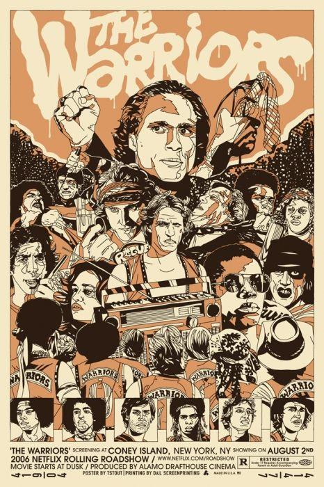 Artwork, Fan Art & Alternate Poster Designs for The Warriors