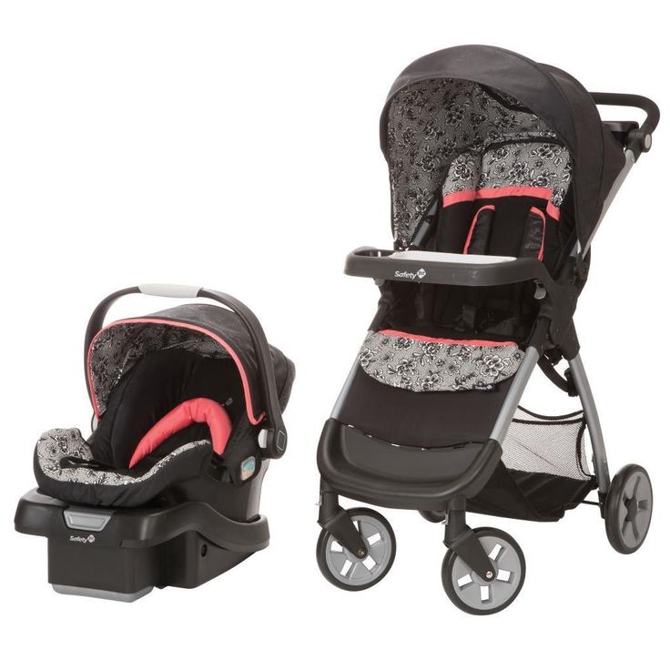 Travel with piece of mind while transporting your little one in this stroller that easily carries your baby's car seat as well. The Amble Luxe travel system comes with the onBoard 35 Infant Car Seat a