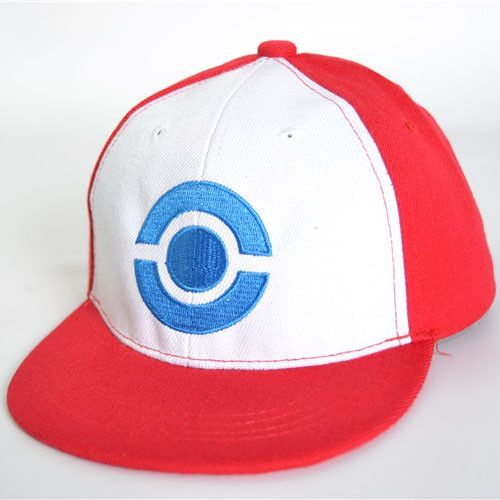 New Visor Cap POKEMON ASH KETCHUM COSTUME Cosplay Hat free shipping