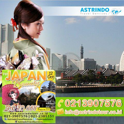 Ayo Liburan bareng Astrindo Travel Services   Lagi banyak paket menarik Ke Jepang Lho..:) :) More Info : 0213907576 or email info@astrindotour.co.id  www.astrindotour.co.id