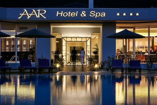 Our piece of #heaven ... #Aarhotel ...