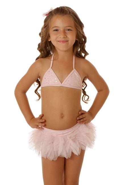 Kate Mack Bows de Ballet Skirted Bikini