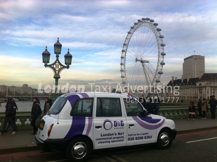 Office & General #taxi #livery  http://www.londontaxiadvertising.com/taxi-advertising-formats/full-liveries/