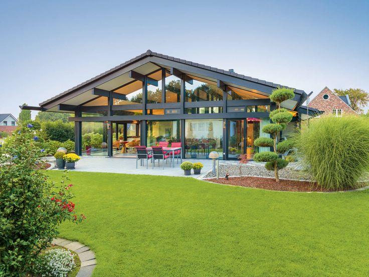 Musterhaus bungalow modern  19 besten Designerhaus Bilder auf Pinterest | Einfamilienhaus ...