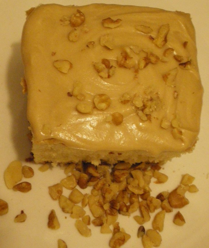 Oh the taste of Autumn! Butter Pecan Cake & Brown Sugar Icing - Marv & Weenz Peppering Genes