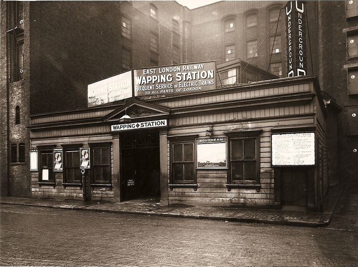 Wapping Station, c.1930.