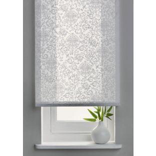 Buy Living 4ft Swirl Semi Privacy Roller Blind White At Argos Co Uk