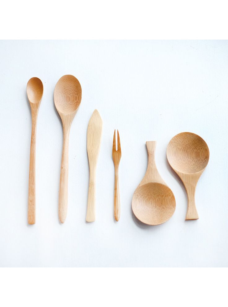 Japanese Bamboo Utensil Set