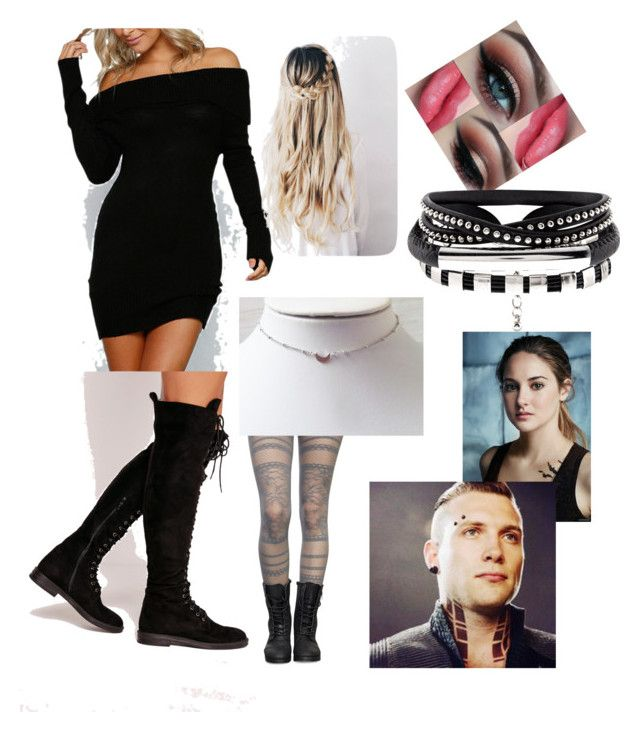 """""""Tris date with Eric! #divergent #eris"""" by safia4life ❤ liked on Polyvore featuring Missguided"""