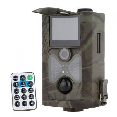 Scouting hunting camera 12MP HD Digital Infrared Trail Camera 940NM IR LED Night Vision 1080P Video Recorder HC500A Wholesale:58.00USD/PC
