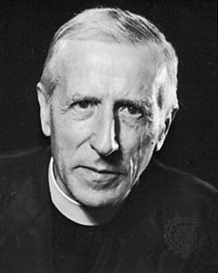 Pierre Teilhard de Chardin SJ (May 1, 1881 – April 10, 1955) was a French philosopher and Jesuit priest who trained as a paleontologist and geologist and took part in the discovery of Peking Man and Piltdown Man. Teilhard conceived the idea of the Omega Point (a maximum level of complexity and consciousness towards which he believed the universe was evolving) and developed Vladimir Vernadsky's concept of Noosphere...