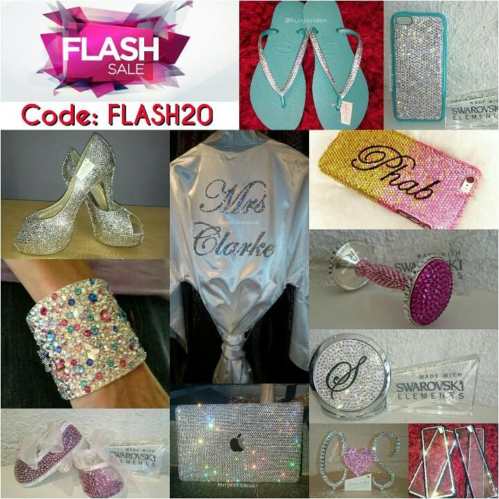 ⚡20% OFF FLASH SALE - ENDS MIDNIGHT SUNDAY 16TH AUGUST 2015⚡    Code: FLASH20      http://itscrystalicious.com/brands/Crystalicious®.html  #sale #flashsale #save #weekend #bling #bride #crystals #crystalicious #designer #handmade #accessories #couture #dontmissout #swarovski #swarovskielements