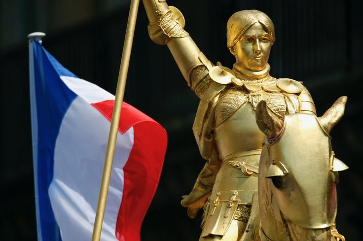 In 1456, an inquisitorial court authorized by Pope Callixtus III examined the trial, debunked the charges against her, pronounced her innocent, and declared her a martyr. In the 16th century she became a symbol of the Catholic League. In 1803 she was declared a national symbol of France by the decision of Napoleon Bonaparte.