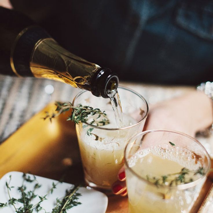 Pear Nectar and Thyme Mimosa: The Must-Drink Fall Cocktail You Haven't Tried | FWx