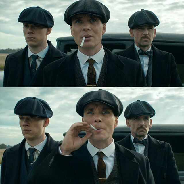Freaking love this show!  John, Tommy & Arthur Shelby | Peaky Blinders