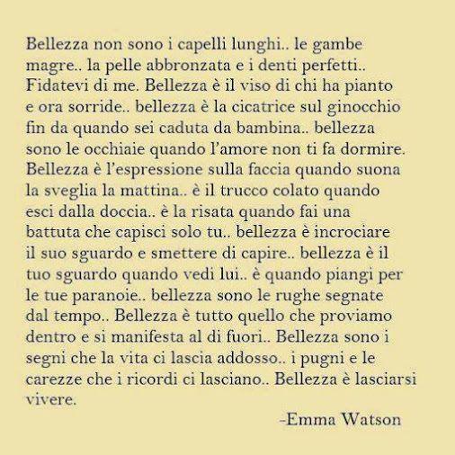 Bellezza - Emma Watson