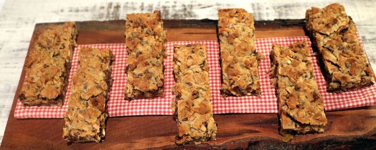 Trail Mix Cookie Bars Recipe by Carla Hall - The Chew
