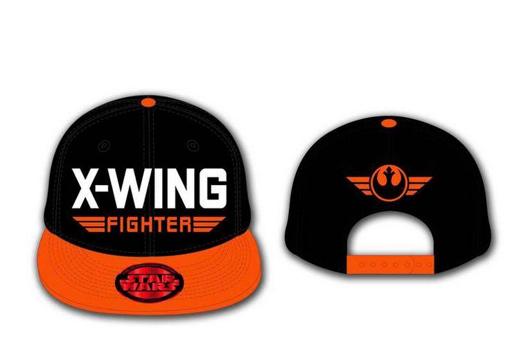 Gorra béisbol X-Wing Fighter. Star Wars. Episodio VII  Gorra, al estilo béisbol, basada en la saga de películas Star Wars.