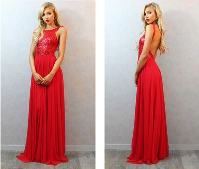 Red Backless Prom Dresses, Backless Prom Dresses, http://makerdress.storenvy.com/products/16371822-red-backless-prom-dresses-backless-prom-dresses-sequin-prom-dresses-chiff