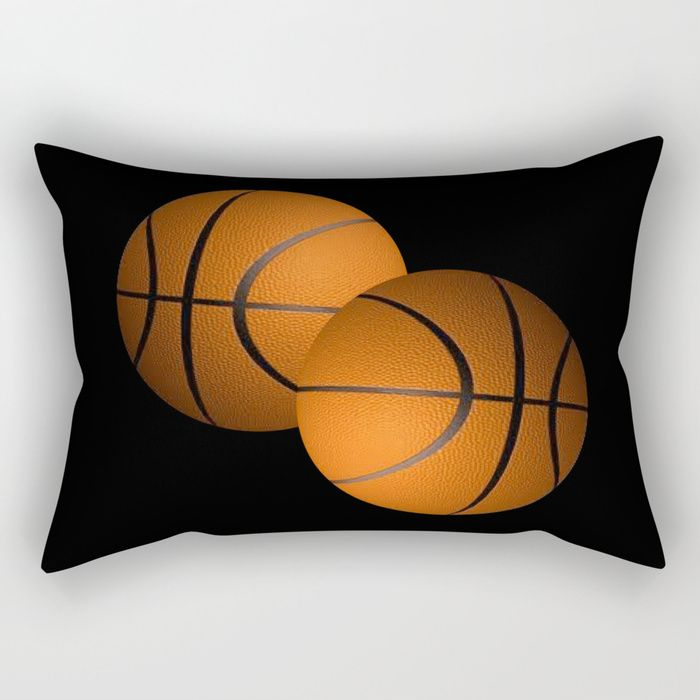 Buy Basketball Sports Design Rectangular Pillow by leatherwooddesign. Worldwide shipping available at Society6.com. Just one of millions of high quality products available.
