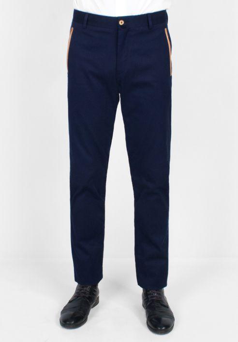 Pantalon Chino Calico Bleu