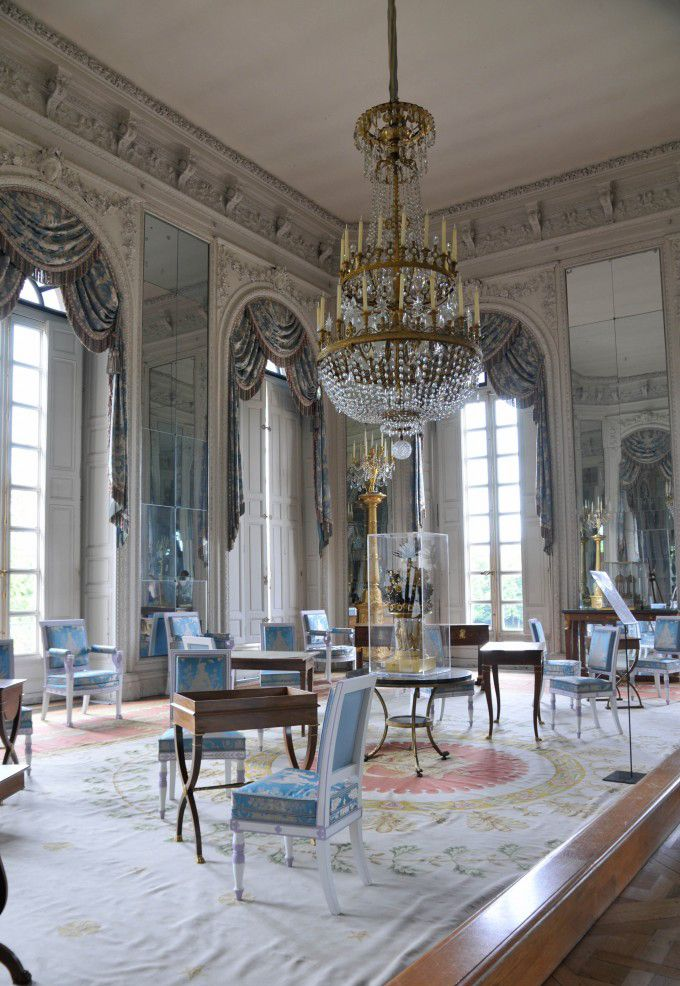 Palace of Versailles, one of the Louis XV suite... incredibly beautiful.