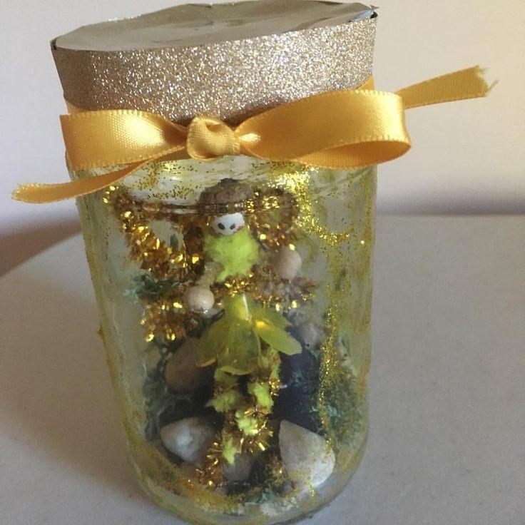 Captured Fairy Jar by Pixie-Wildflower.deviantart.com on @DeviantArt
