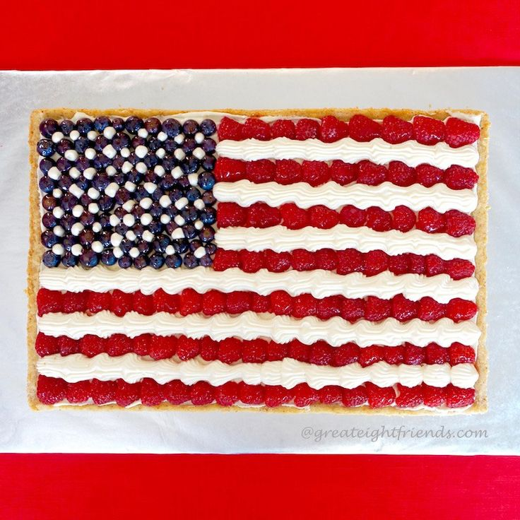 American Flag Fruit Pizza Great Eight Friends Recipe Fruit Pizza Patriotic Desserts Fruit