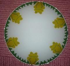 Deckenlampe Kinderzimmer von LEOLA - Froschdesign