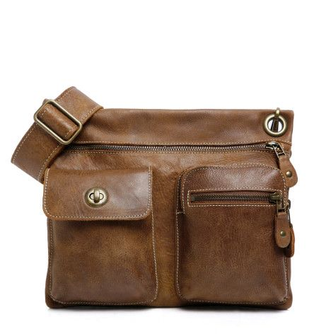 I need another one of these! Village Bag in Vintage Tribe Leather | Roots Original Flat Bags | Roots