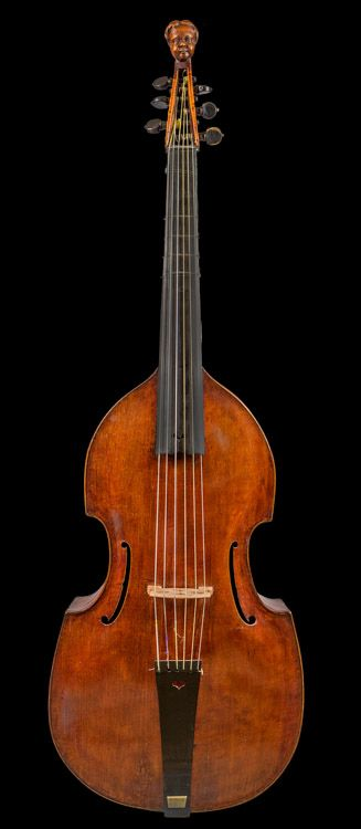 Late Seventeenth Century Italian Viola Da Gamba. This and more rare musical instruments on CuratorsEye.com