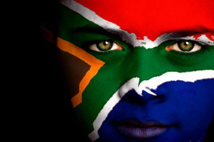 South African sports fan